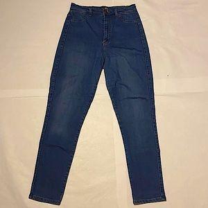 Fashion Nova High-Waisted Jeans, Size 13